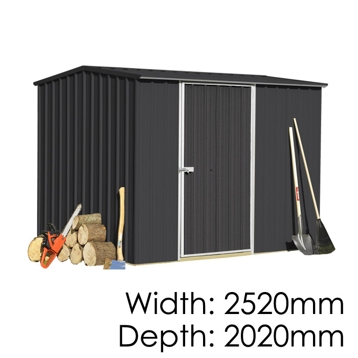 Garden Sheds NZ Smart-Store-2520-Ebony