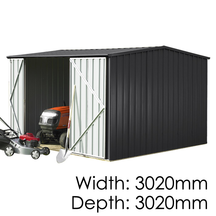 Garden Sheds NZ Smart-Store-3030-Ebony