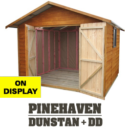 Garden Sheds NZ Dunstan-Display-Shed