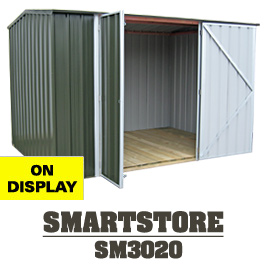 Garden Sheds NZ SM3020-Display-Shed