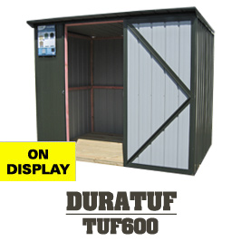 Garden Sheds NZ Tuf600-Display-Shed