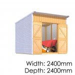The Shed Smiths Classic Lean-To 2424
