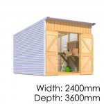 The Shed Smiths Classic Lean-To 2436