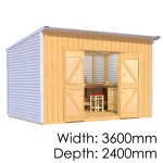 The Shed Smiths Classic Lean-To 3624