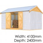 The Shed Smiths Classic Gable 4124
