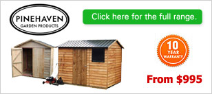 Pinehaven Timber Sheds
