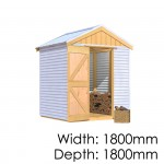The Shed Smiths Classic Gable 1818