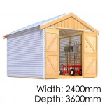 The Shed Smiths Classic Gable 2436