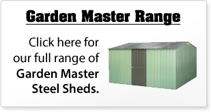 Garden Master Steel Sheds