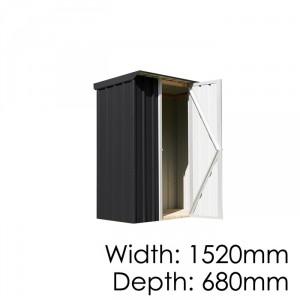 Smart Store Locker SM1507 Ebony