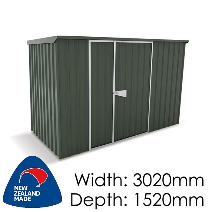 SmartStore Lean-to SM3015 3020x1520 Karaka Shed available at Gubba Garden Shed