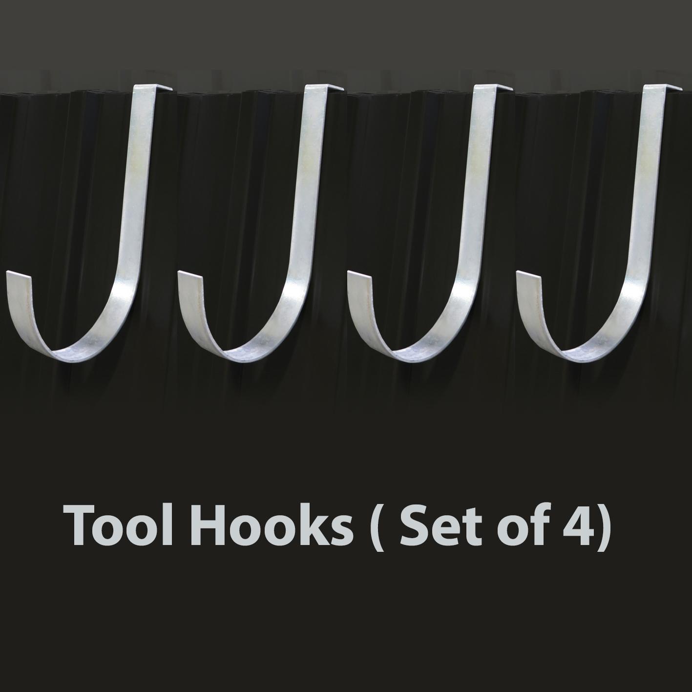 5 Tool Hooks ( Set of 4)