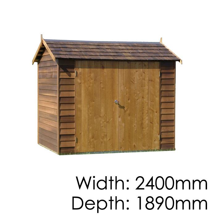 Garden Sheds 3x3 cedar astor garden shed - wooden sheds auckland