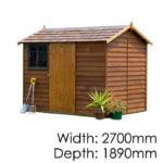 Garden Sheds NZ Cedar-Logan-150x150