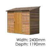 Cedar Woodridge Timber Garden Shed