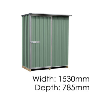"Galvo GVO1508 ""Rivergum"" Shed - Floor Kitset Included (pickup deal)"