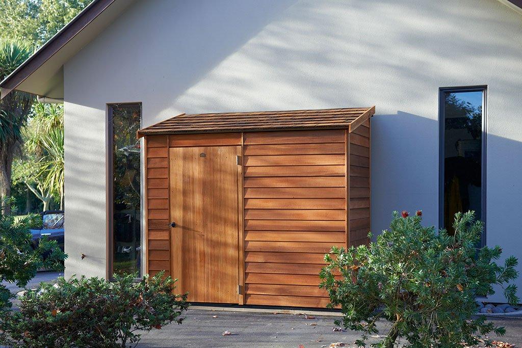 Garden Sheds NZ Cedar-Woodridge-Shingle-Roof