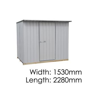 Galvo GVO2315 Zincalume Garden Shed - Floor Kitset Included (pickup deal)