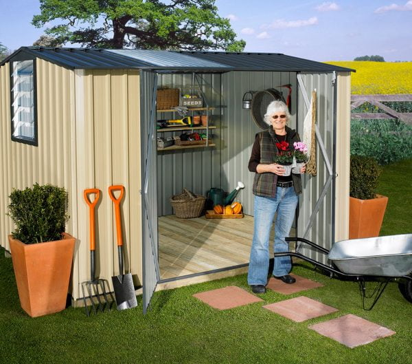 Garden Sheds NZ Garden-Master-Shed-Lifestyle-600x529