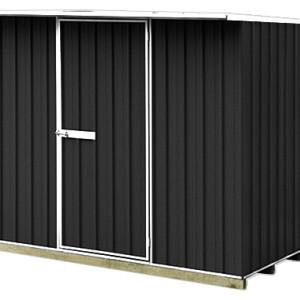 galvo-2315-Ebony-coloursteel-garden-shed