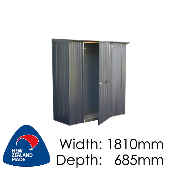 Duratuf Fortress 1810x685 Tuf Locker available at Gubba Garden Shed
