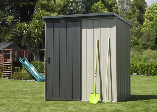 Garden Sheds NZ Duratuf-Kiwi-KL1-Single-Sliding-Door-600x430