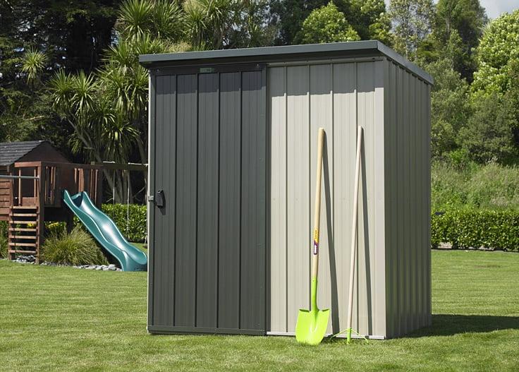 Garden Sheds NZ Duratuf-Kiwi-KL1-Single-Sliding-Door