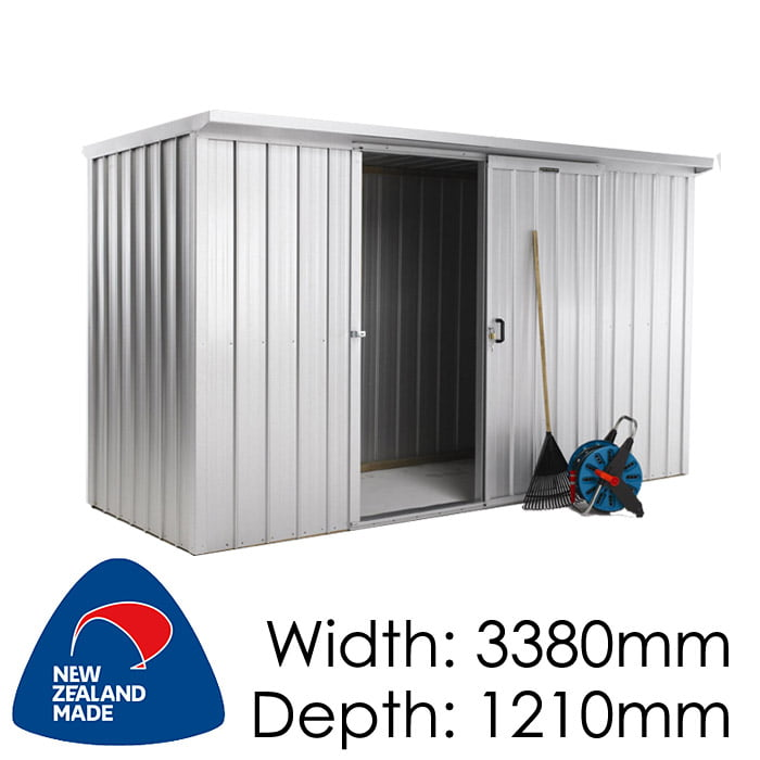 Duratuf Kiwi KL3 3380x1210 Garden Shed available at Gubba Garden Shed