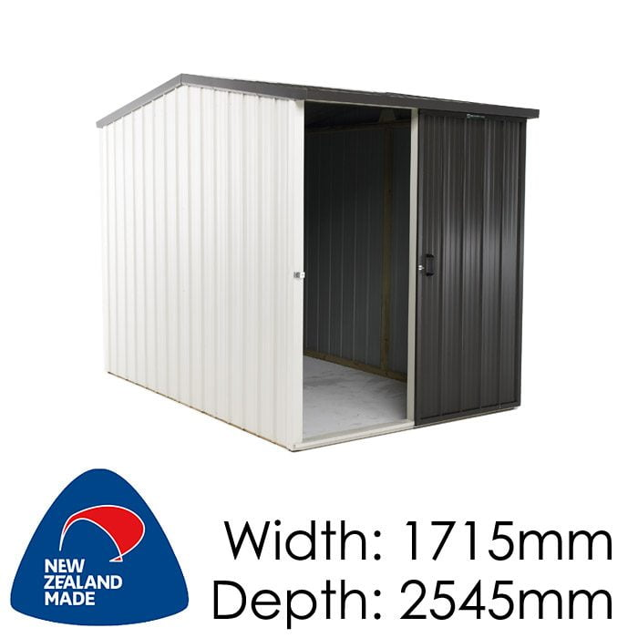Duratuf Kiwi MK1A 1751x2545 Garden Shed available at Gubba Garden Shed
