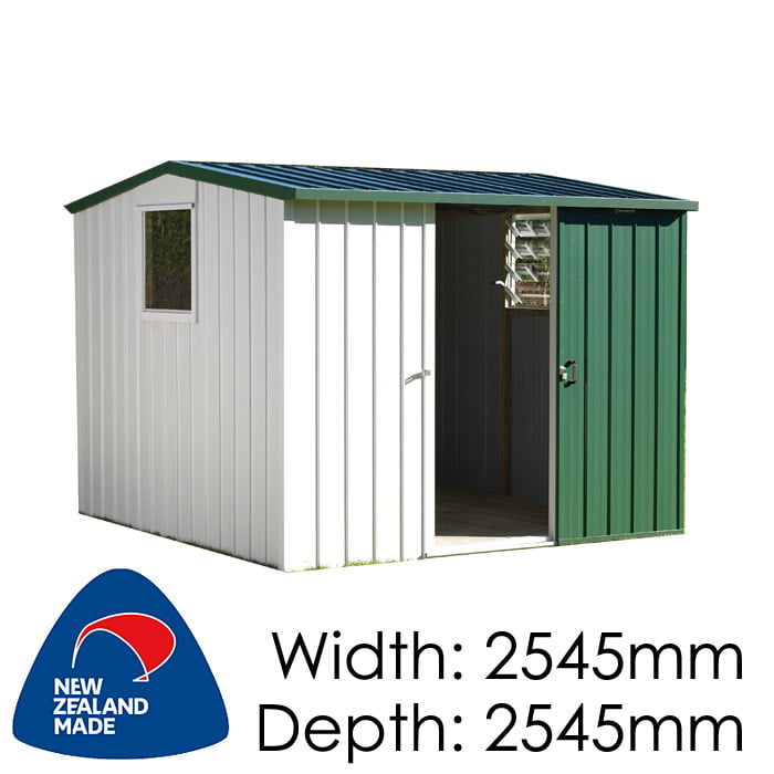 Duratuf Kiwi MK2A 2545x2545 Garden Shed available at Gubba Garden Shed