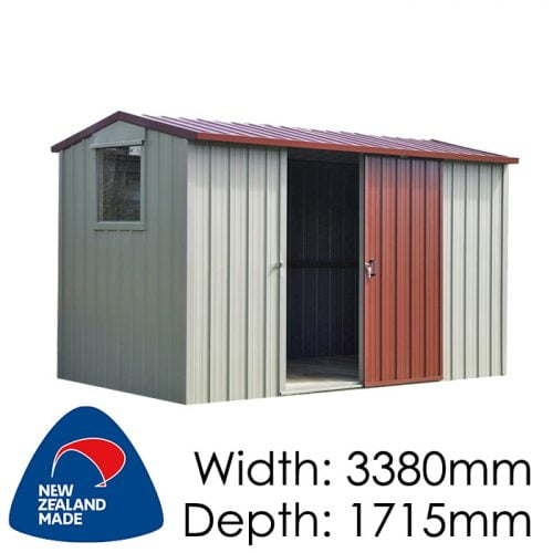 Duratuf Kiwi MK3 3380x1715 Garden Shed available at Gubba Garden Shed
