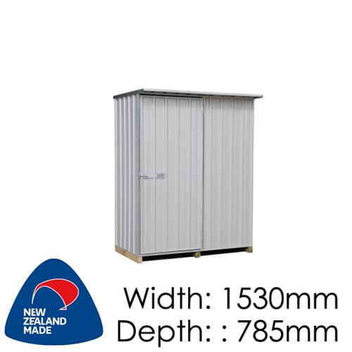 Galvo GVO1508 1530x785 Alu-Zincalume Garden Shed available at Gubba Garden Shed