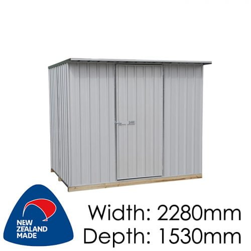 Galvo GVO2315 2280x1530 Alu-Zinc Garden Shed available at Gubba Garden Shed