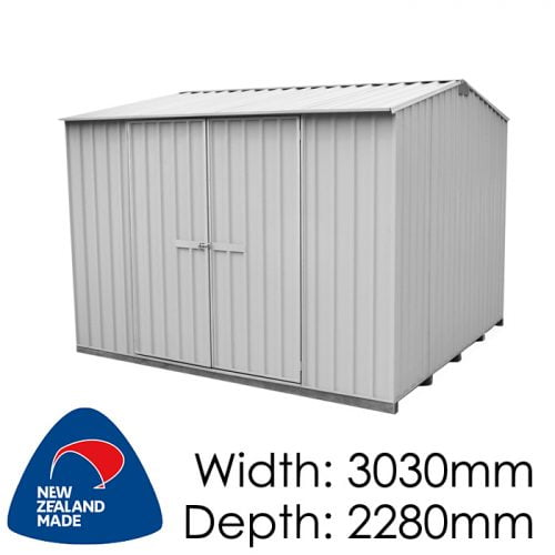 Galvo GVO3023 3030x2280 Alu-Zinc Garden Shed available at Gubba Garden Shed