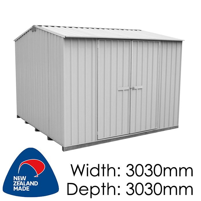 Galvo GVO3030 3030x3030 Alu-Zinc Garden Shed available at Gubba Garden Shed