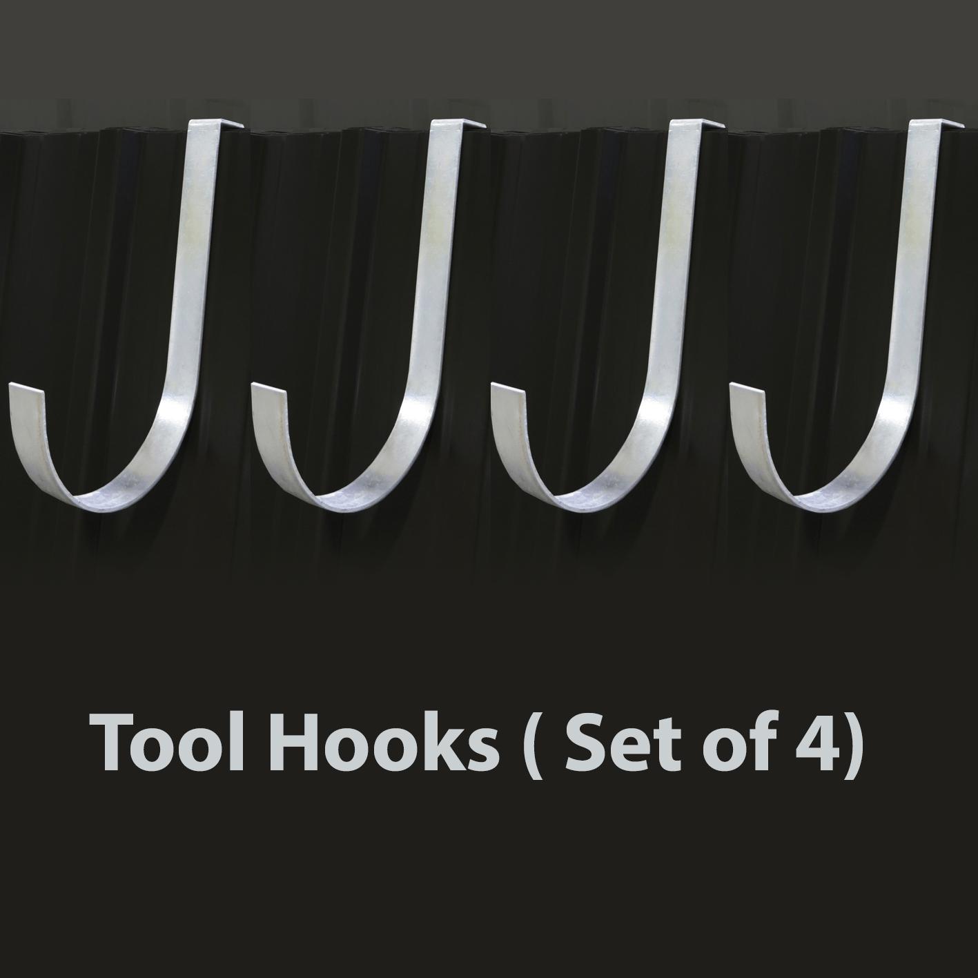 Tool Hooks ( Set of 4)