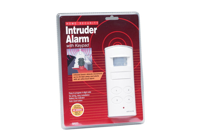 Garden Sheds NZ Intruder-Alarm