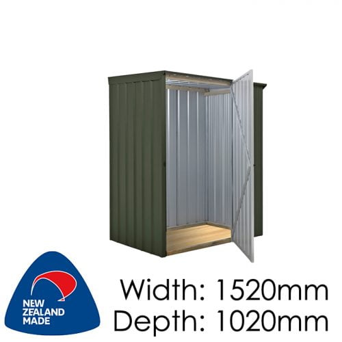 SmartStore Skillion SM1510 1520x1020 Karaka Shed available at Gubba Garden Shed
