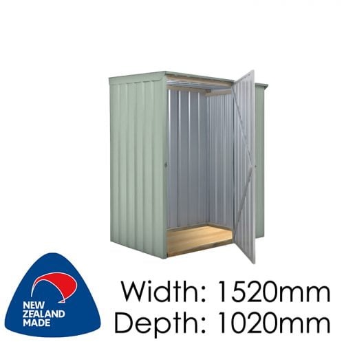 SmartStore Skillion SM1510 1520x1020 Mist Green Shed available at Gubba Garden Shed