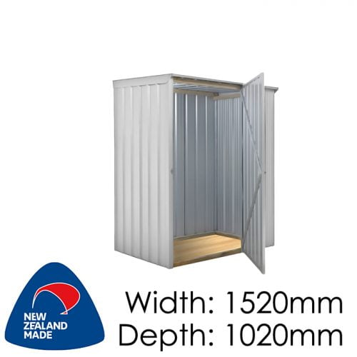 Garden Sheds NZ Smart-Store-SM1510-Zinc-1-500x500