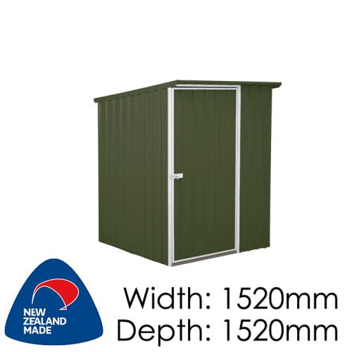 SmartStore Lean-to SM1515 1520X1520 Karaka Shed available at Gubba Garden Shed
