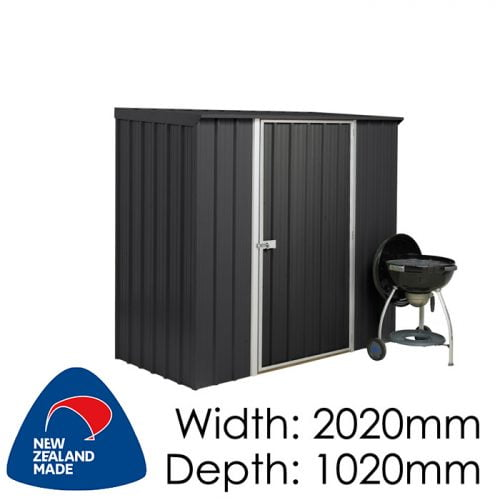 Garden Sheds NZ Smart-Store-SM2010-Ebony-1-500x500