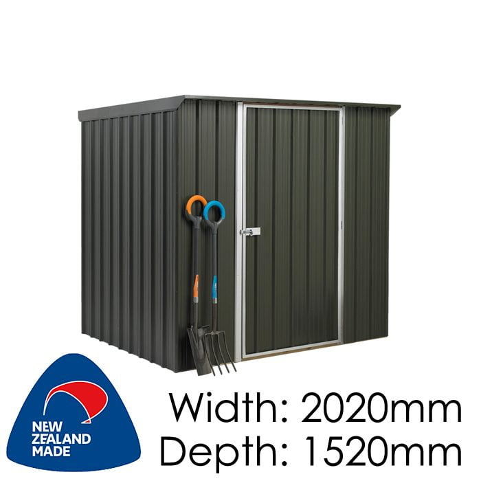 SmartStore Lean-to SM2015 2020x1520 Karaka Shed available at Gubba Garden Shed