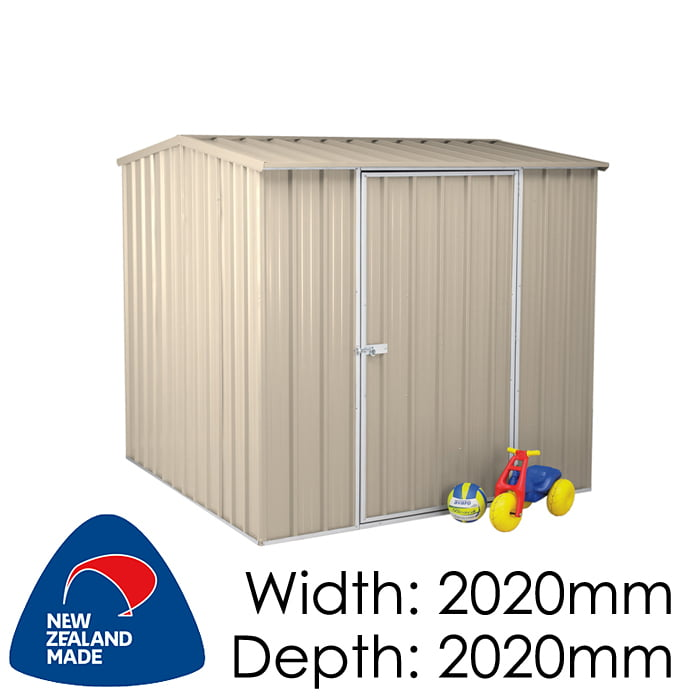 SmartStore Gable SM2020 2020x2020 Lichen Shed available at Gubba Garden Shed