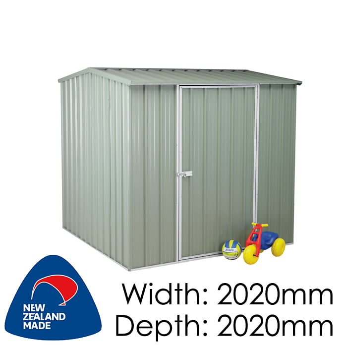 SmartStore Gable SM2020 2020x2020 Mist Green Shed available at Gubba Garden Shed