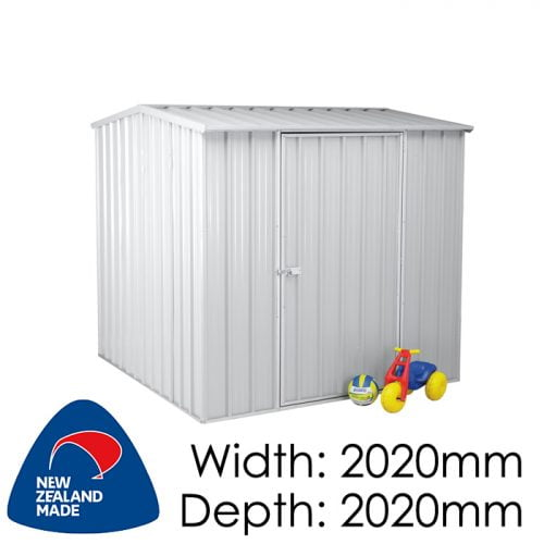 SmartStore Gable SM2020 2020x2020 Zincalume Shed available at Gubba Garden Shed