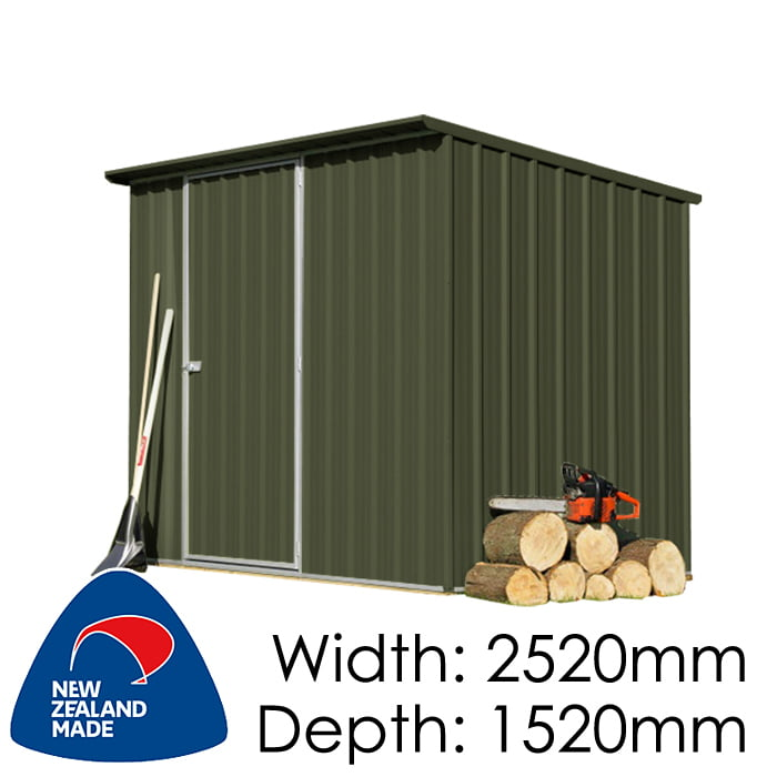 SmartStore Lean-to SM2515 2520x1520 Karaka Shed available at Gubba Garden Shed