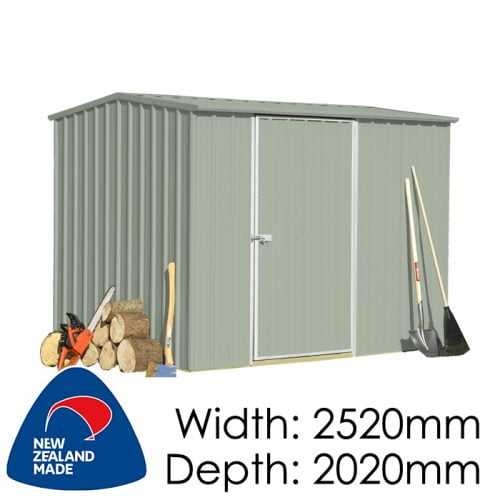 SmartStore Gable SM2520 2520x2020 Mist Green available at Gubba Garden Shed