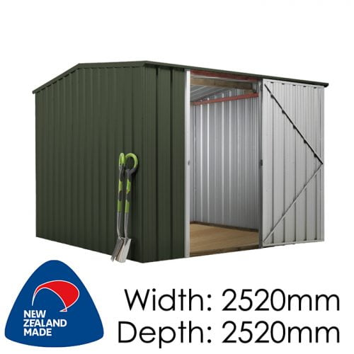 SmartStore Gable SM2525 2520x2520 Karaka Shed available at Gubba Garden Shed