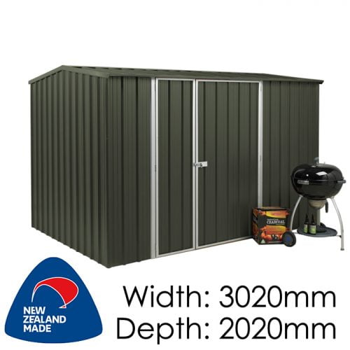 SmartStore Gable SM3020 3020x2020 Karaka Shed available at Gubba Garden Shed